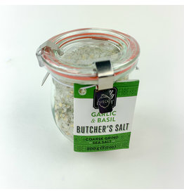 wildly delicious Garlic and basil Sea Salt