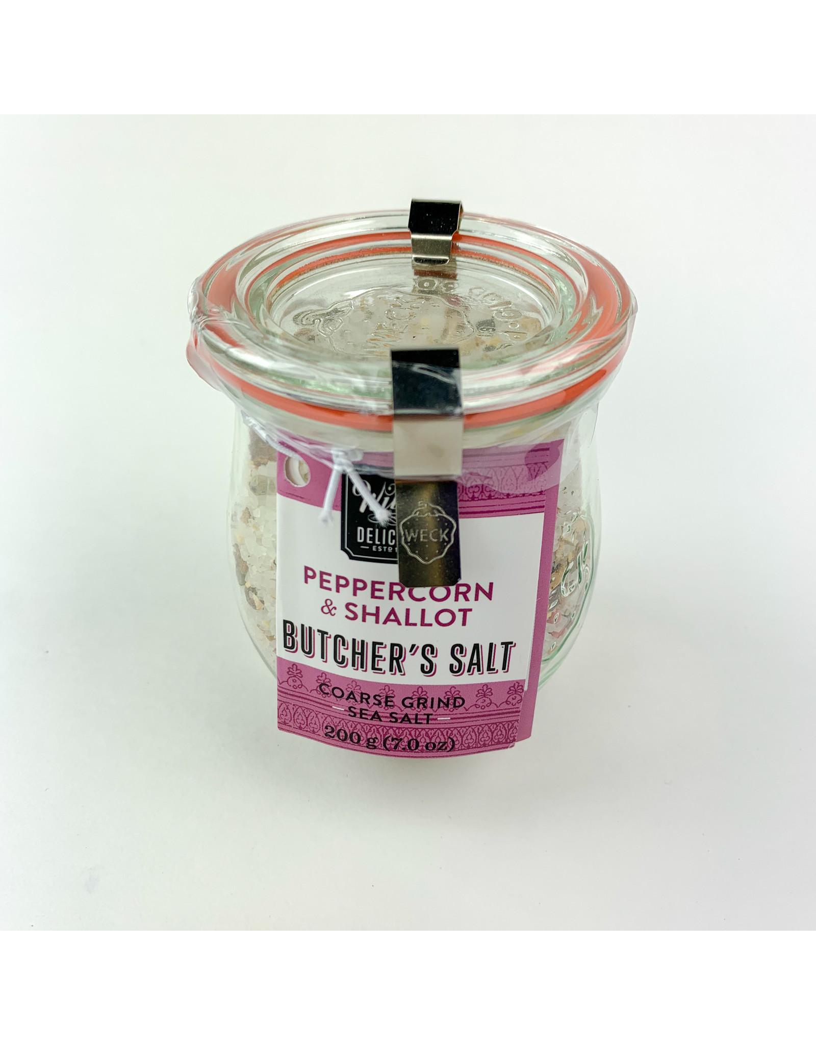 wildly delicious Peppercorn Shallot sea salt