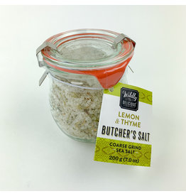 wildly delicious Lemon & Thyme Sea Salt