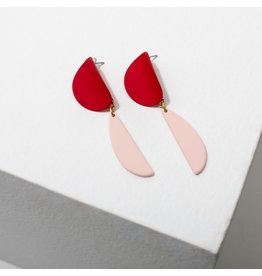 Larissa Loden Yayoi Earrings-Red