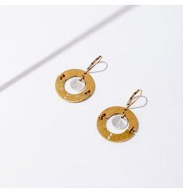 Larissa Loden Puer earrings- silver