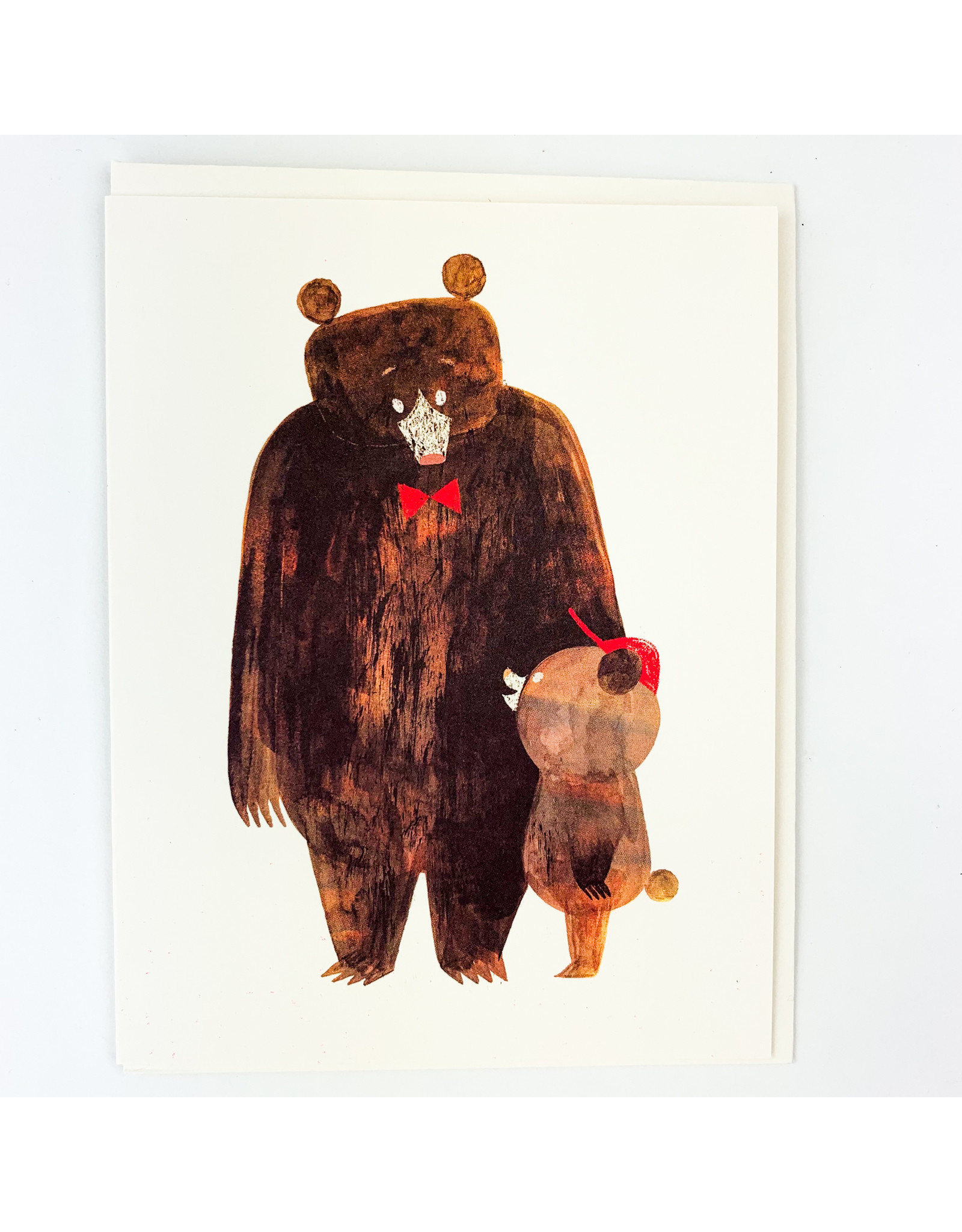 Red Cap Cards Daddy Bear Father's Day