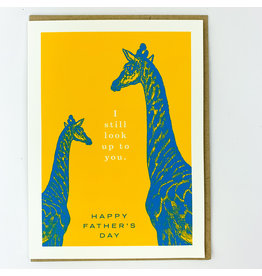 J.Faulkner Giraffe father's day