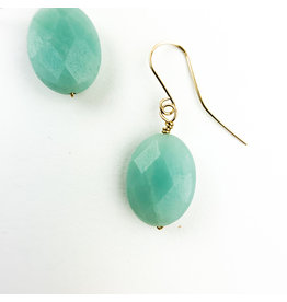 Nicole Collodoro Amazonite Faceted