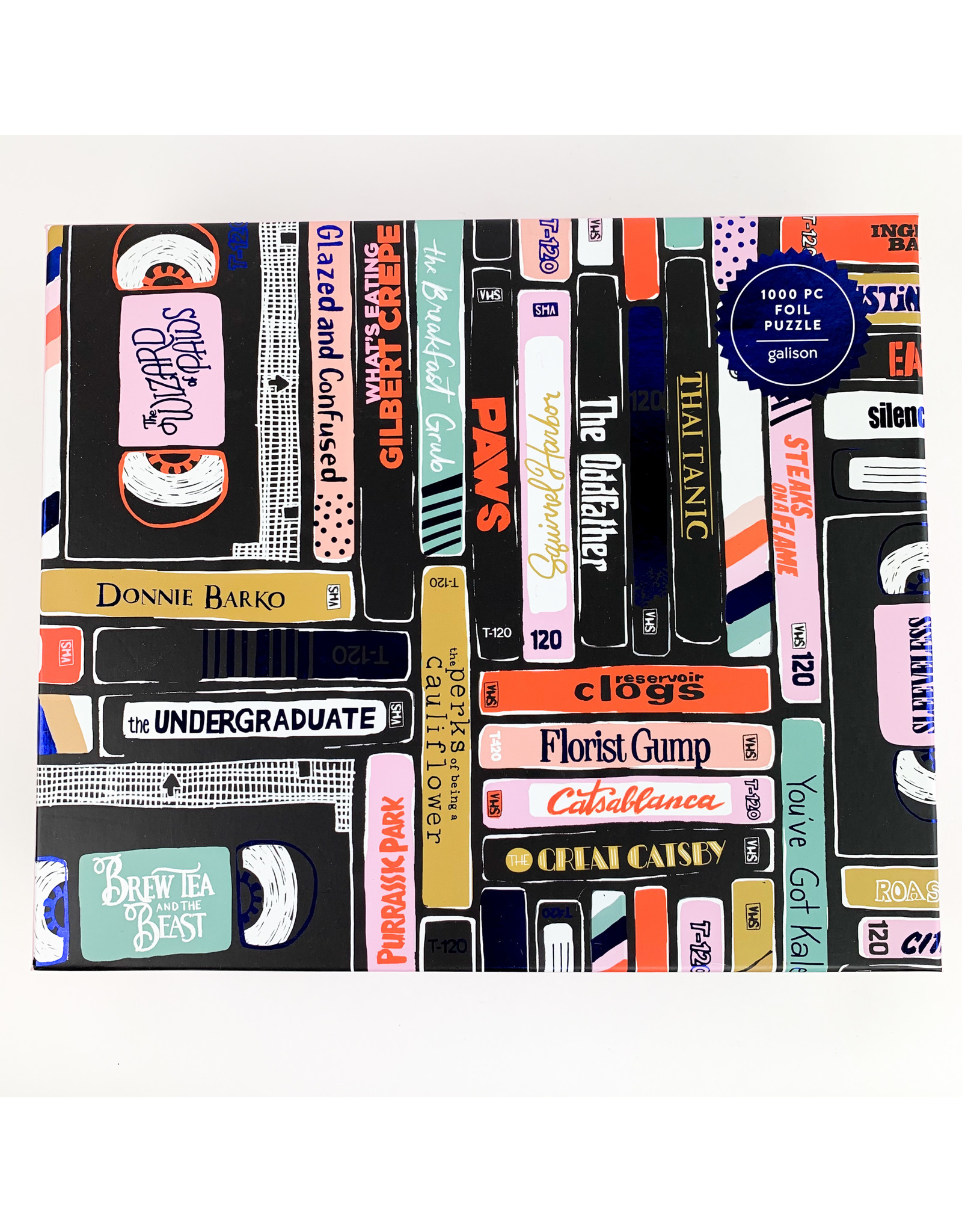 Chronicle Books Foil Classic Rewind 1000 pc Puzzle