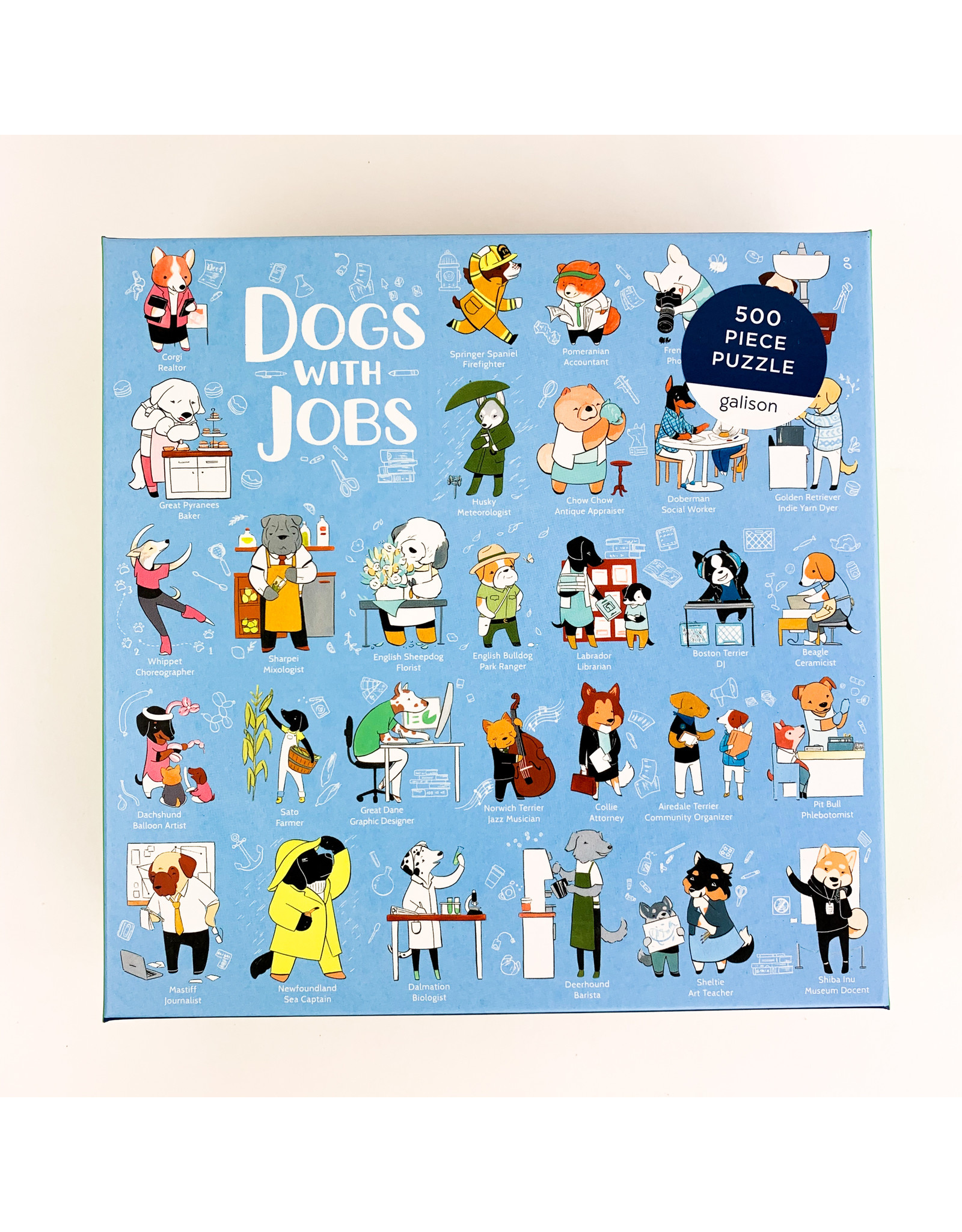 Chronicle Books Dog with Jobs (500)