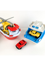 green toy Ferry Boat