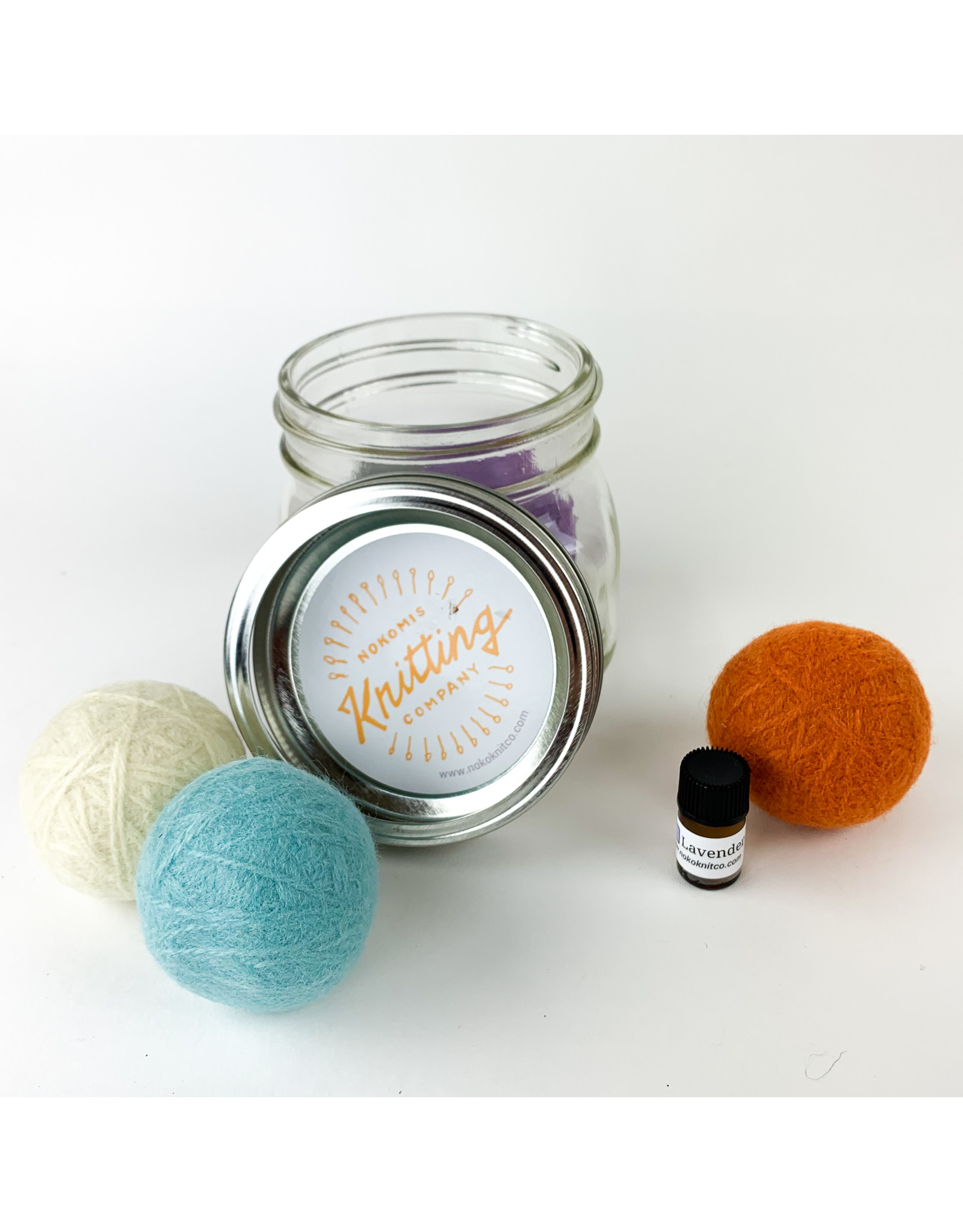 Nokomis Knitting Company Clean Cotton/Dryer Ball Kit