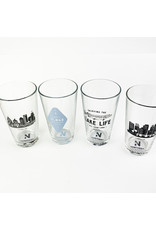 Northern Glasses Lake Life Fishing Pint