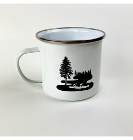 Northern Glasses North Shore Campfire Mug White