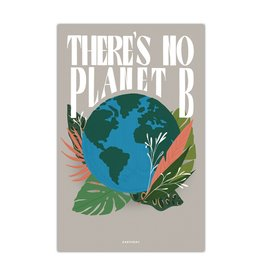 Northern Glasses No Planet B Print