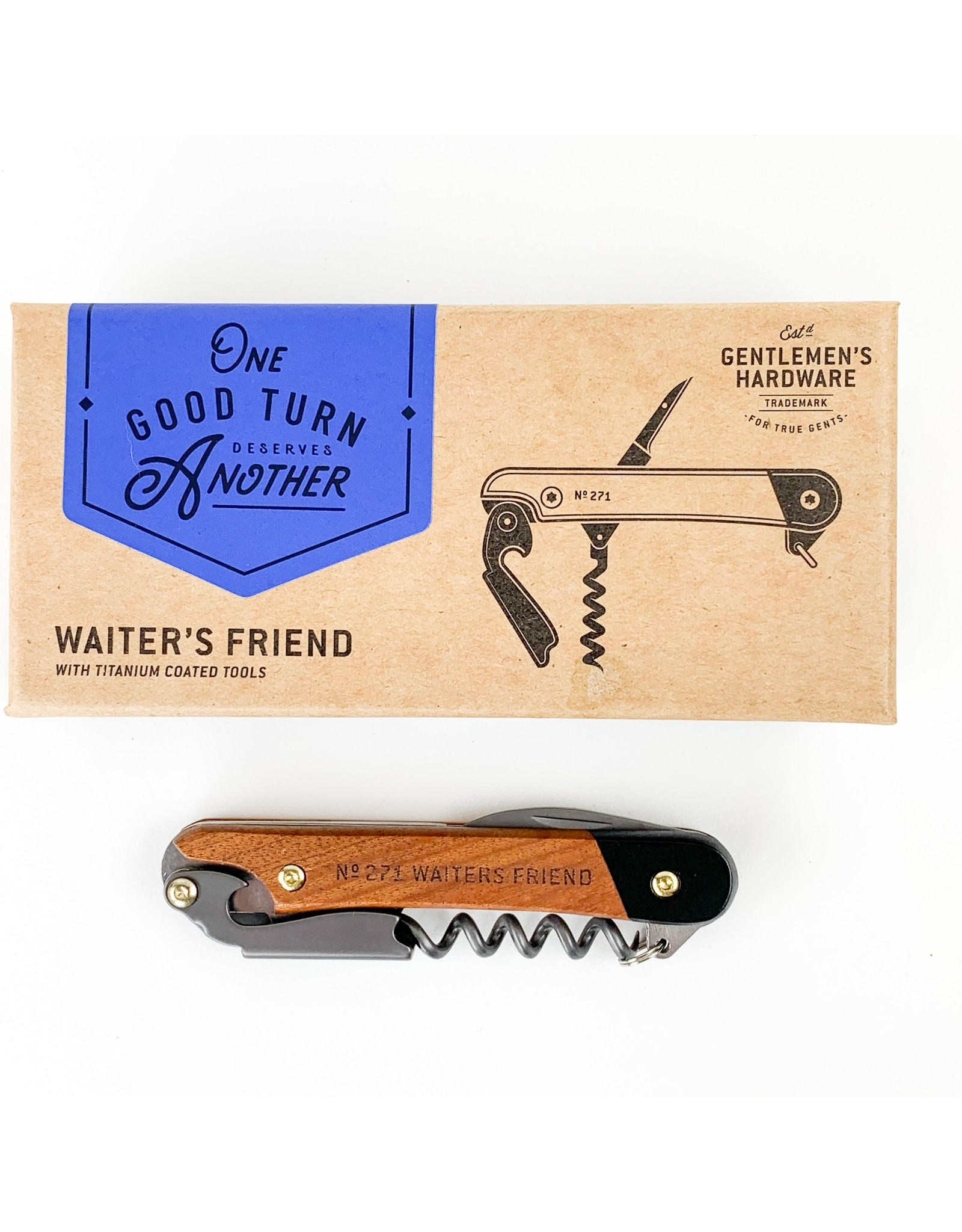 Wild and Wolf Waiter's Friend Opener
