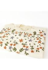 Mystree Cream Floral Sweater