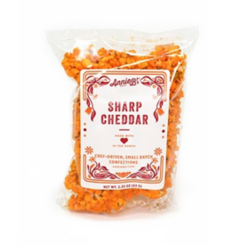 Annie B's Sharp Cheddar Popcorn Bag