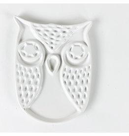 Ceramic Owl Spoon Rest