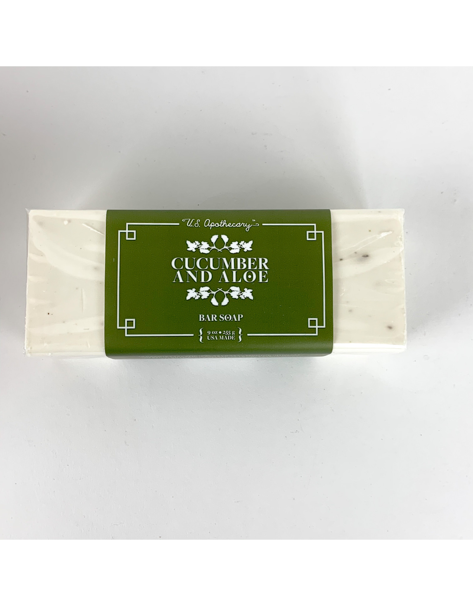 K. Hall Cucumber & Aloe soap