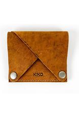 Kiko Leather Wing Fold Card Case