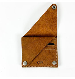 Kiko Leather Wing Fold Card Case