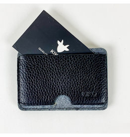 Kiko Leather Black Combo Card Case