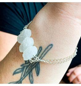 Druzy Bracelet Sterling Silver