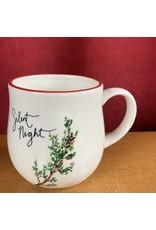 Creative Co-Op Stoneware Twig Mug Cedar