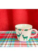 Creative Co-Op Mug Deer