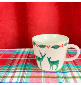 Creative Co-Op Mug Deer