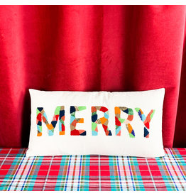 Creative Co-Op Merry Cotton Pillow