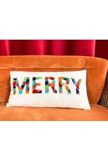 Creative Co-Op Merry Cotton Pillow
