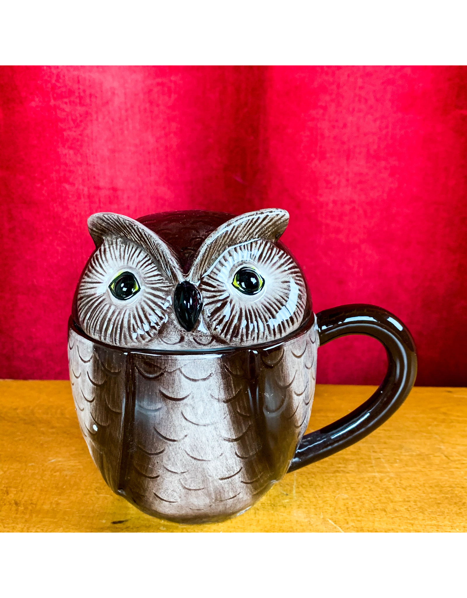 Creative Co-Op Stoneware Owl