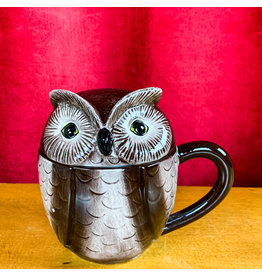 Creative Co-Op Stoneware Owl