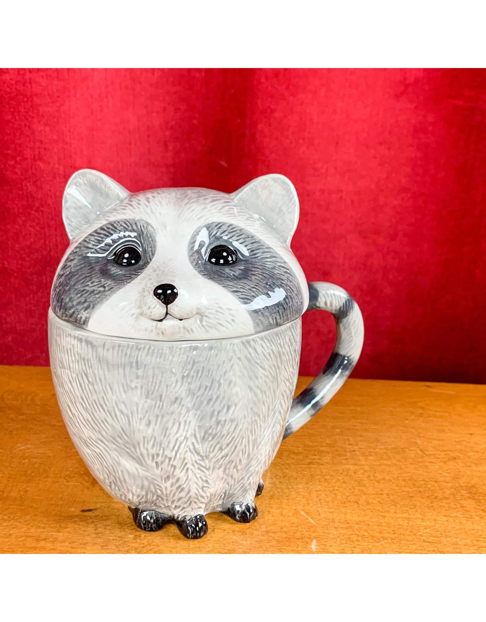 Creative Co-Op Stoneware Raccoon