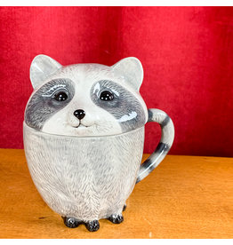 Creative Co-Op Stoneware Raccoon