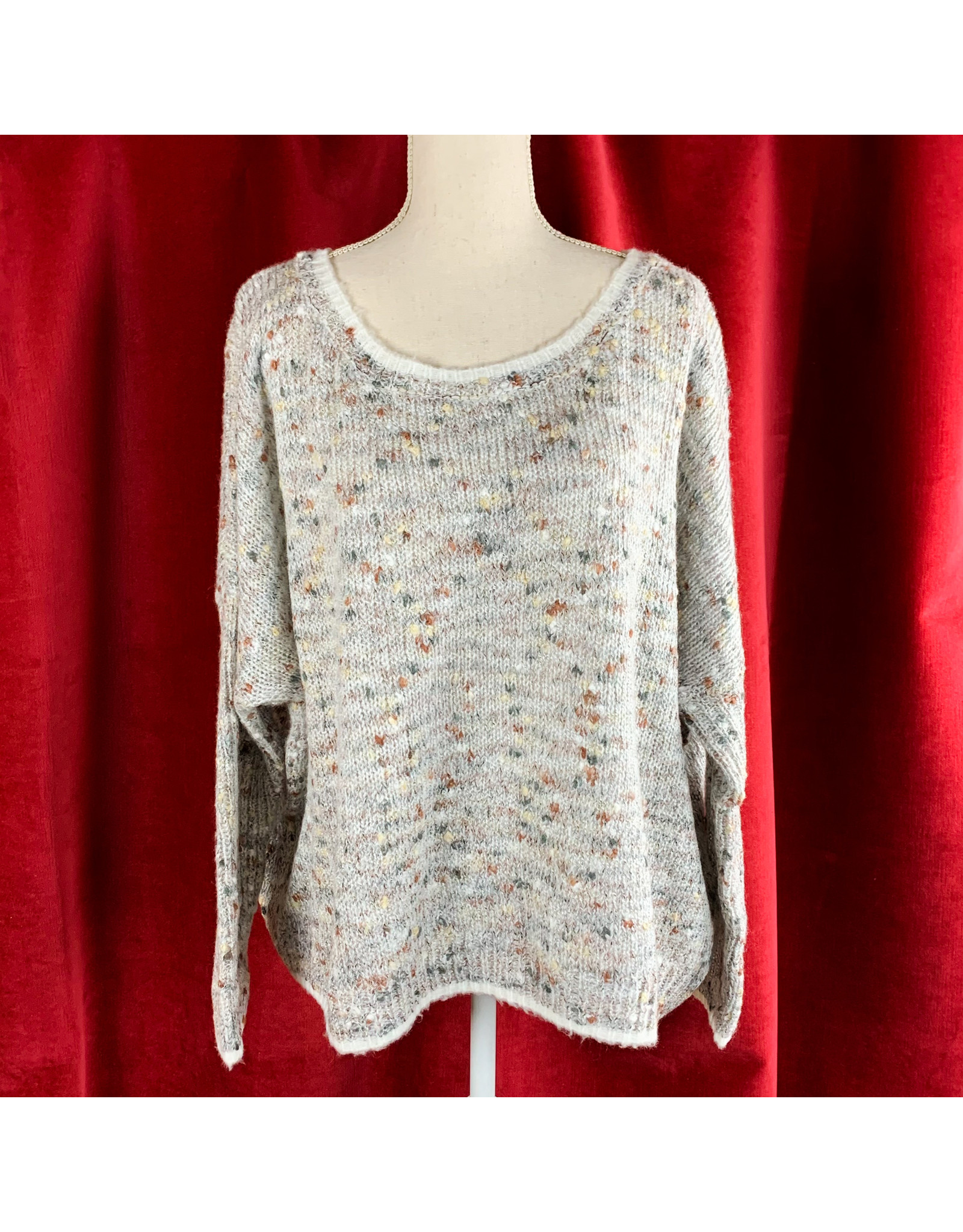 Mystree Grey Mix Sweater