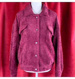 Mystree Burgundy Jacket