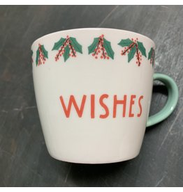 Creative Co-Op Mug Wishes