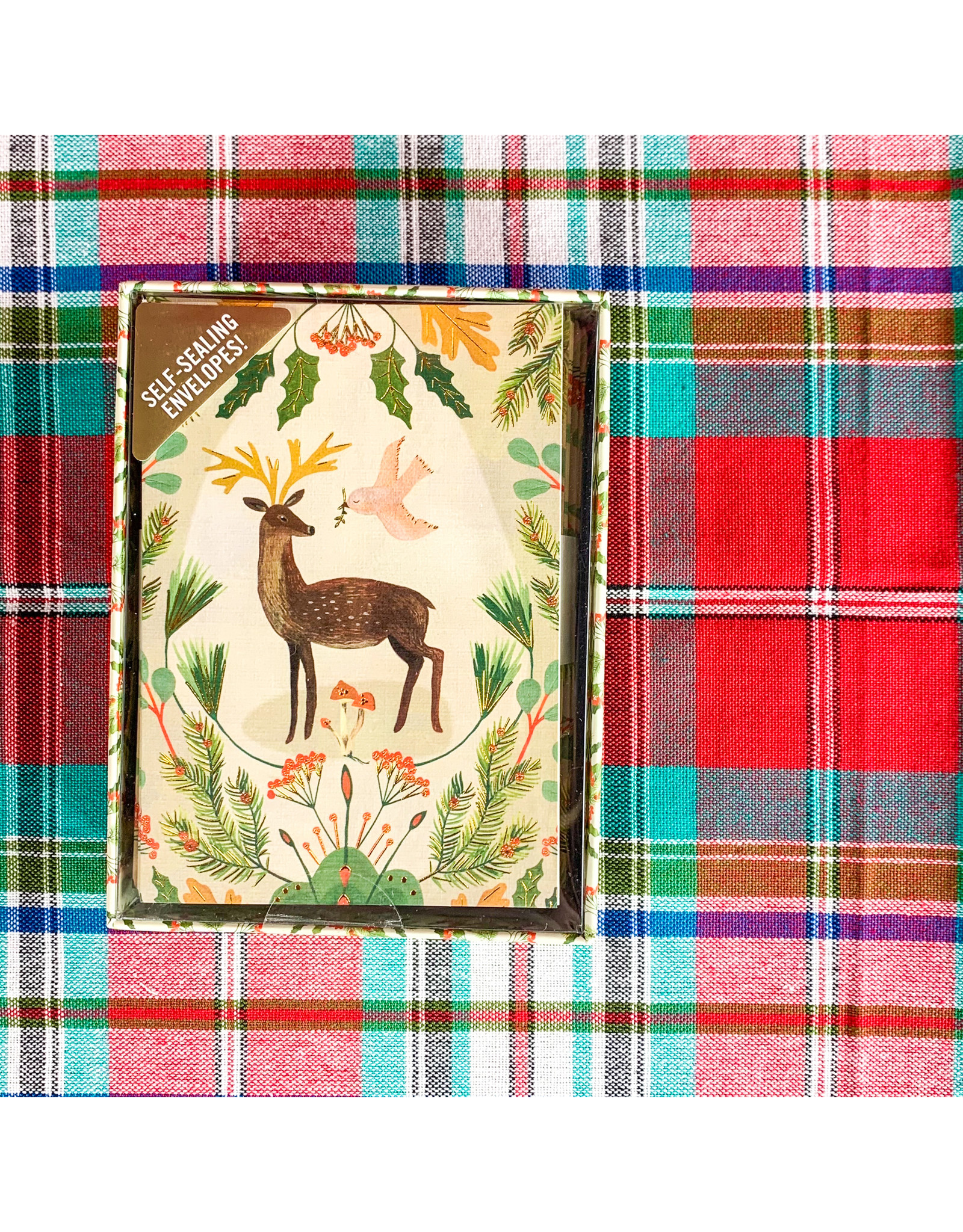 Peter Pauper Press Deer and Dove- boxed cards