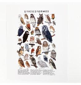 Kelzuki/Consignment Mini Print Consignment - Strigiformes