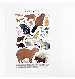 Kelzuki/Consignment Mini Print Consignment - Rodentia