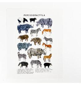 Kelzuki/Consignment Mini Print Consignment - Perissodeactyla