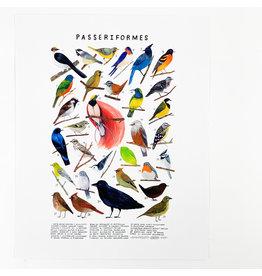 Kelzuki/Consignment Passeriformes Print/ Consignment