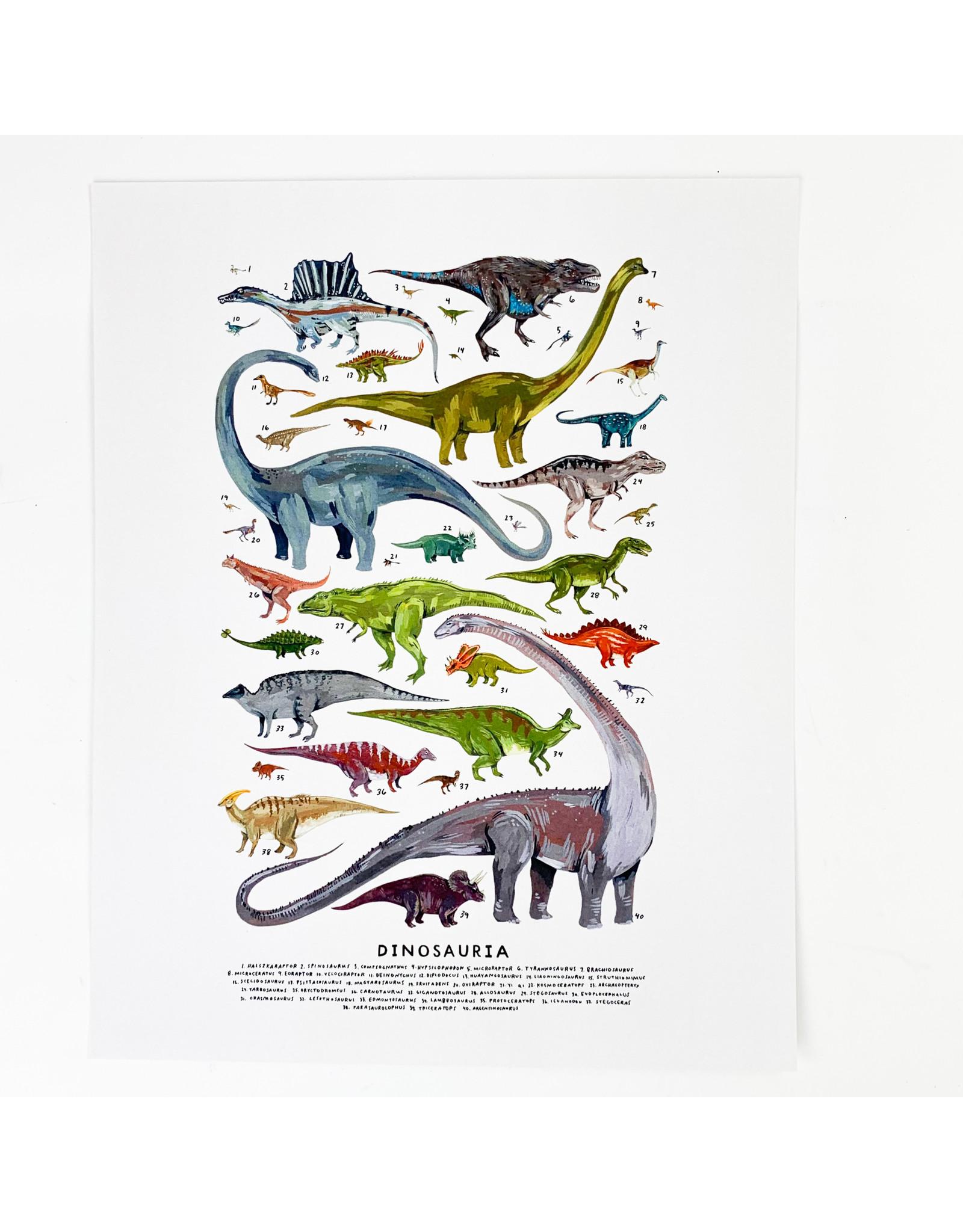 Kelzuki/Consignment Dinosauria Print - Consignment
