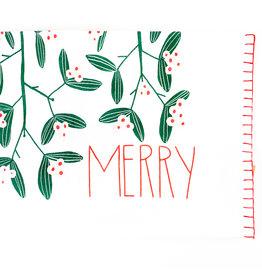 Creative Co-Op Merry Teatowel