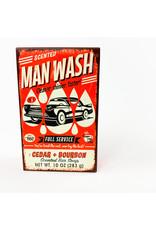 Cedar and Bourbon Man Wash bar Soap