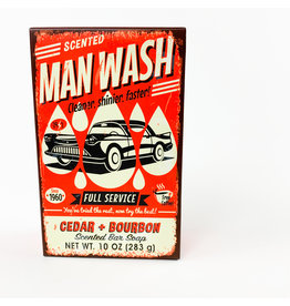 Cedar and Bourbon Man Wash bar Soap