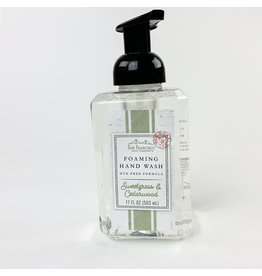 Sweet Grass and Cedar woof Foaming Soap