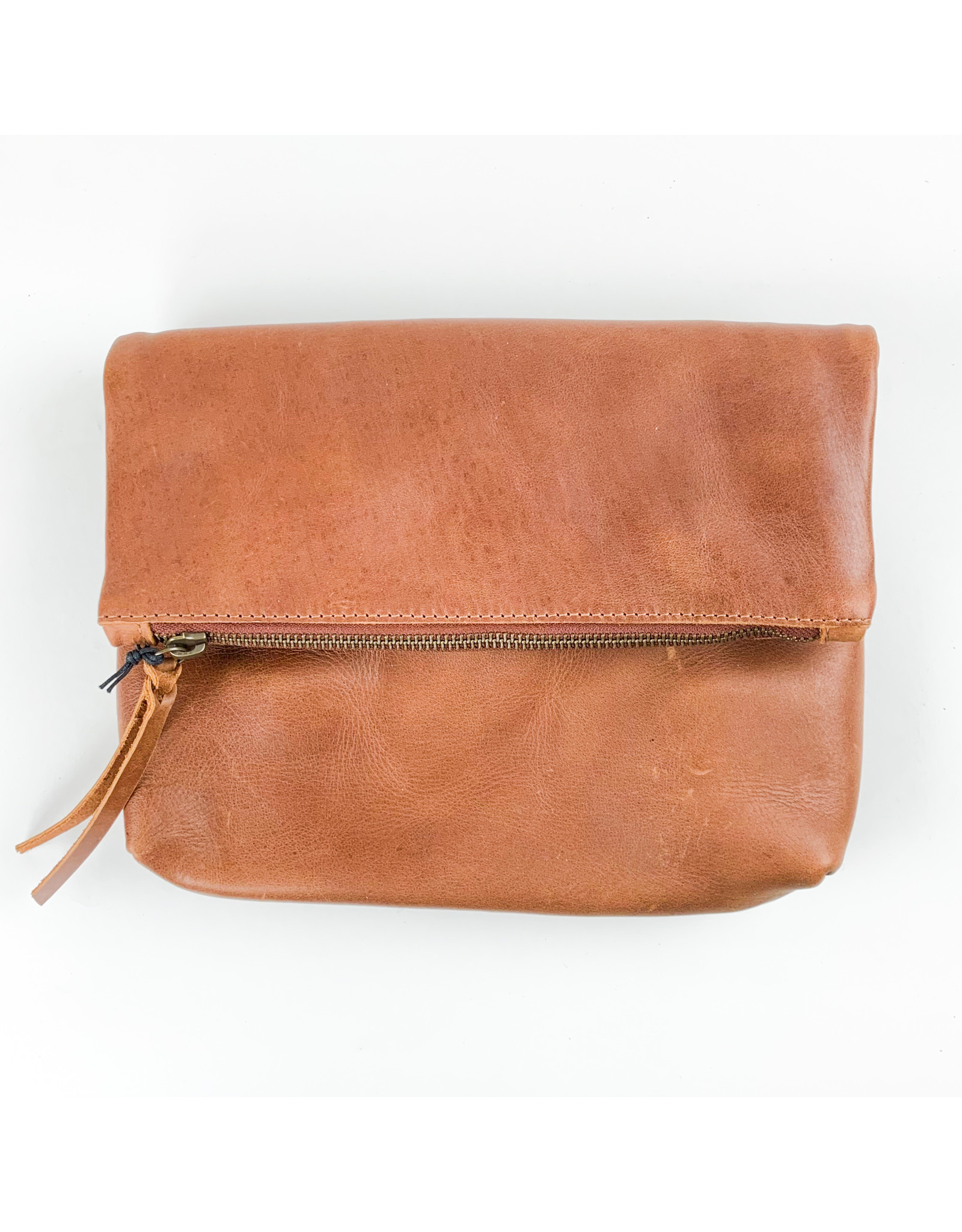 Able Emnet Foldover Crossbody - Whiskey