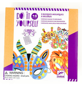 Djeco Mosaic Jungle Mask kit