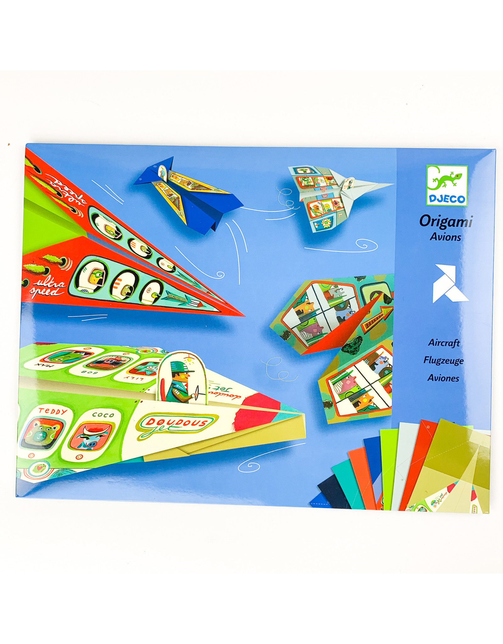 Djeco Plane origami