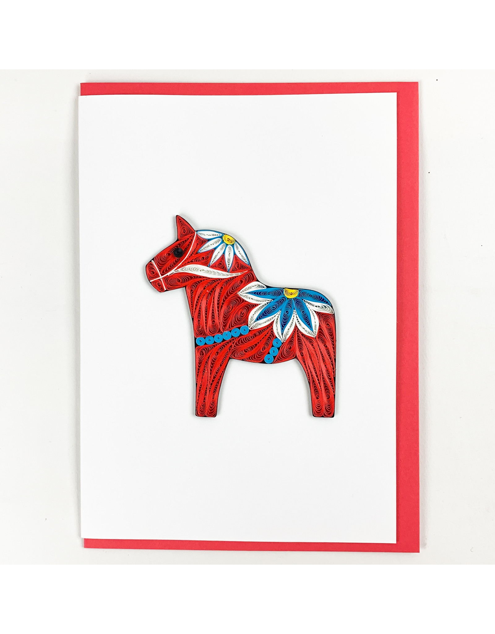 Iconic Quill Shop Red Dala Horse